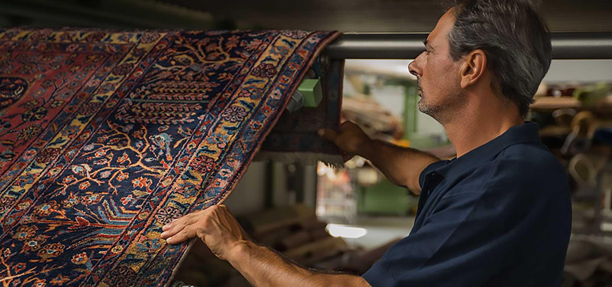 Lavaggio tappeti persiani Pulivan